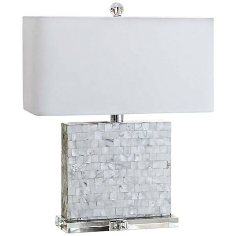 Regina Andrew Bliss Mother of Pearl Accent Table Lamp
