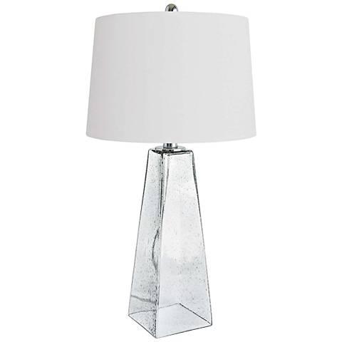 Regina andrew conley ice cube glass table lamp 37c92 lamps plus regina andrew conley ice cube glass table lamp aloadofball Choice Image