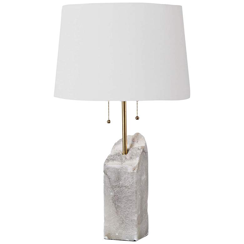 Regina Andrew Design Natural Raw Alabaster Table Lamp