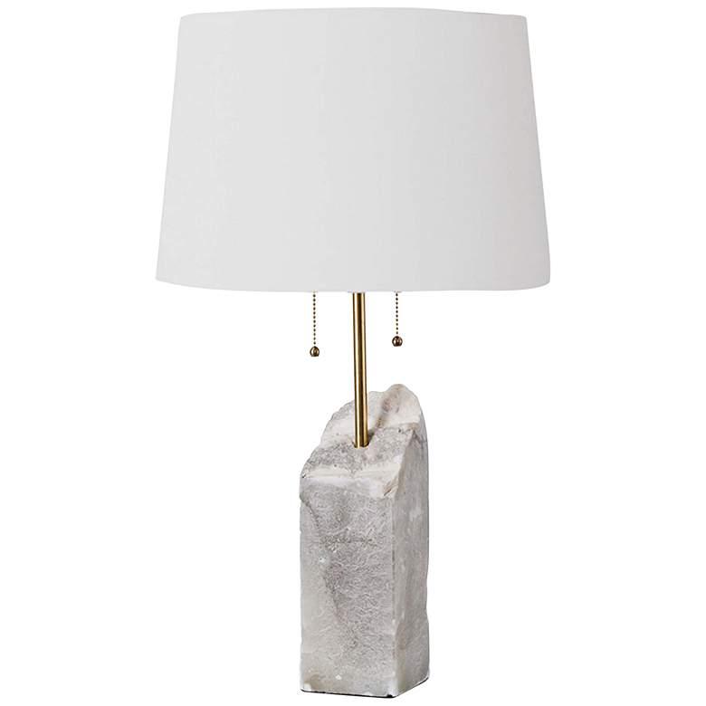Regina Andrew Natural Raw Alabaster Table Lamp