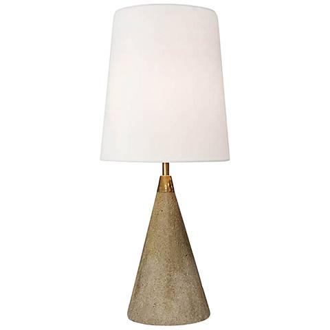 Regina Andrew Gareon Concrete Cone Accent Table Lamp