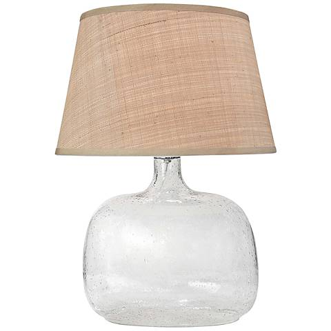 Regina Andrew Patterson Seeded Glass Accent Table Lamp