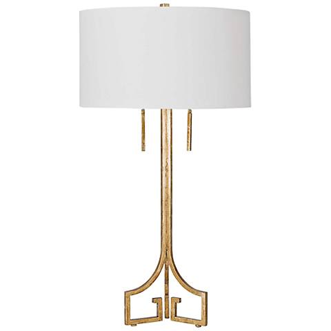 Regina Andrew Le Chic Antique Gold Leaf Table Lamp