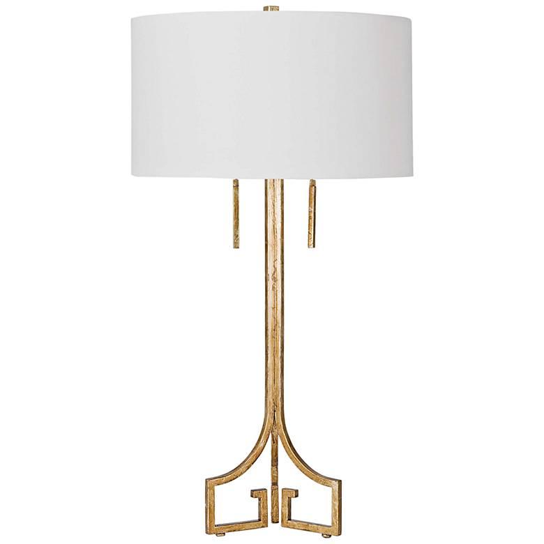 Regina Andrew Le Chic Antique Gold Leaf Table Lamp