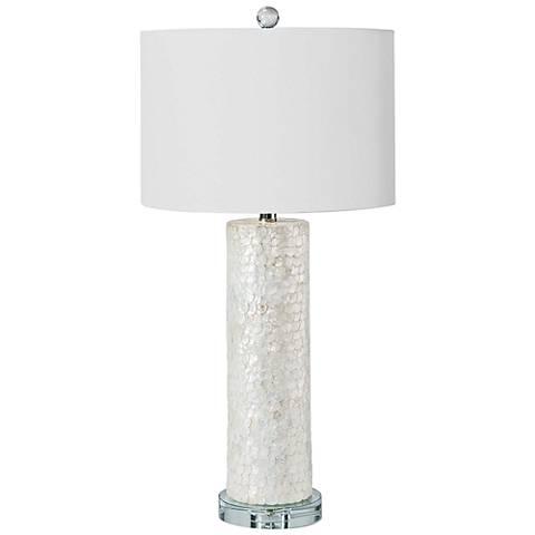 Regina Andrew Jalen Scalloped Capiz Table Lamp