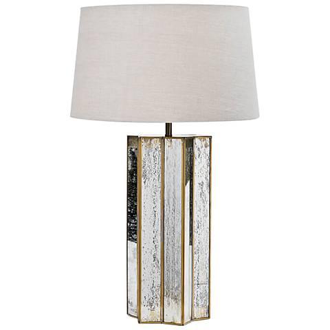 Regina Andrew Alexa Antique Mercury Glass Table Lamp