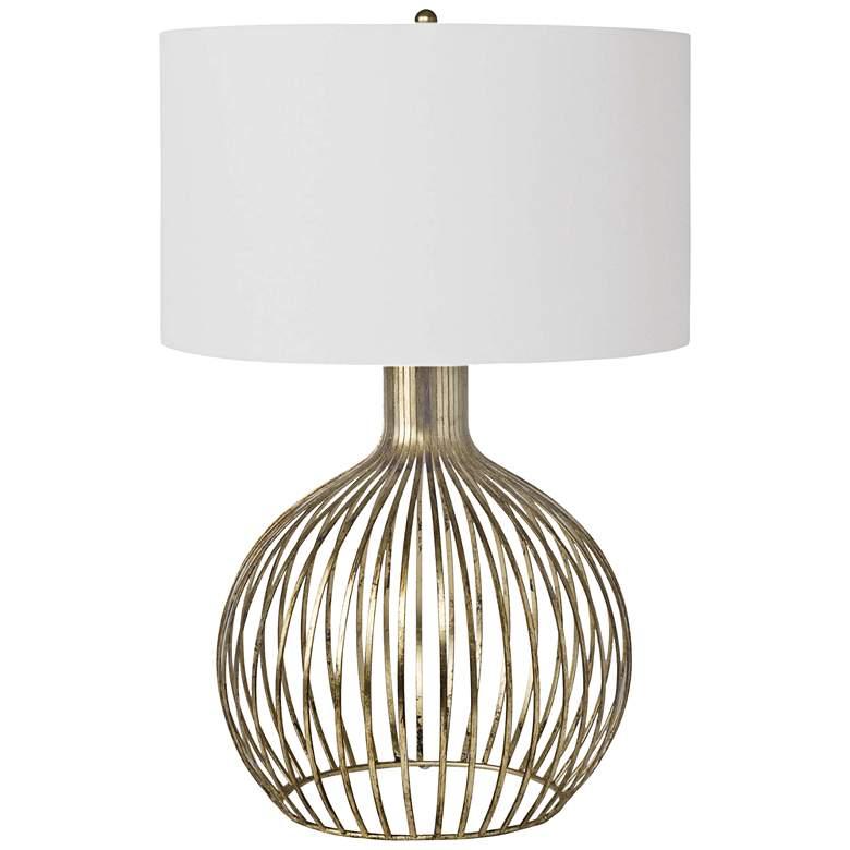 Regina Andrew Abby Gold Leaf Metal Table Lamp