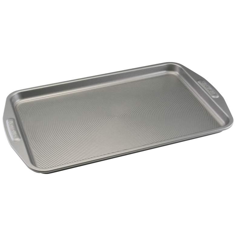"""Circulon Glide Gray 11"""" x 17"""" Nonstick Bakeware Cookie Pan"""