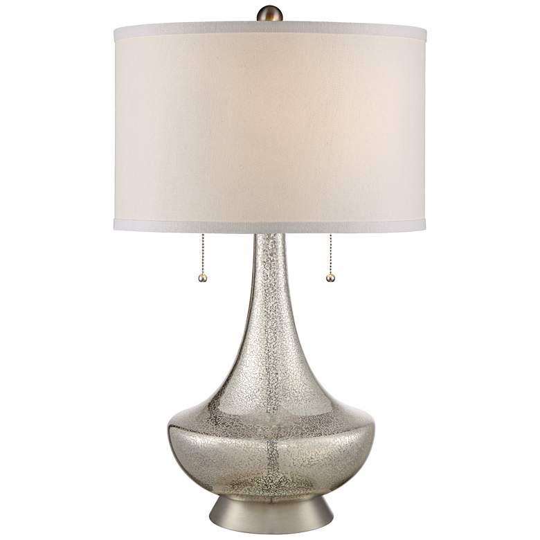 Possini Euro Trixie Mercury Glass Table Lamp