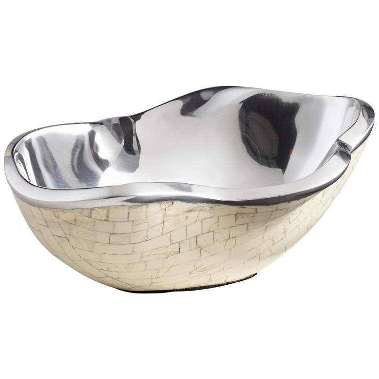 "Cyan Design 9 3/4"" Wide Bay Breeze Small Modern Bowl"