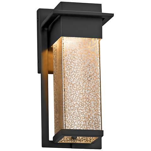 "Fusion™ Pacific 12""High Glass Black LED Outdoor Wall Light"