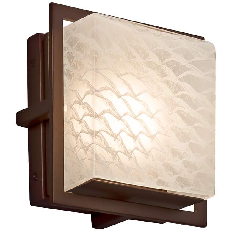 "Fusion™ Avalon 6 1/2""H Dark Bronze LED Outdoor"