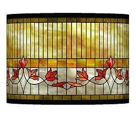 Tiffany Style Lily Giclee Lamp Shade 13 5x13 5x10 Spider