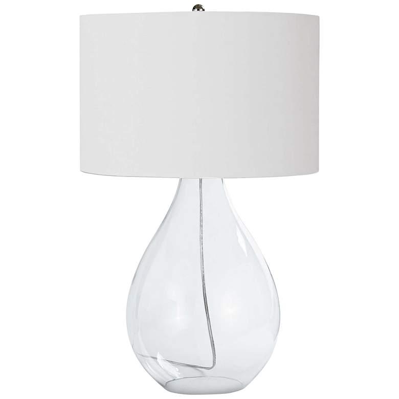 Regina Andrew Paisley Glass Table Lamp