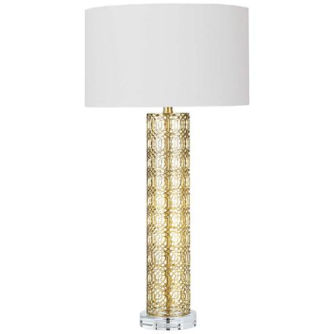 Regina Andrew Design Leopold Gold Leaf Table Lamp