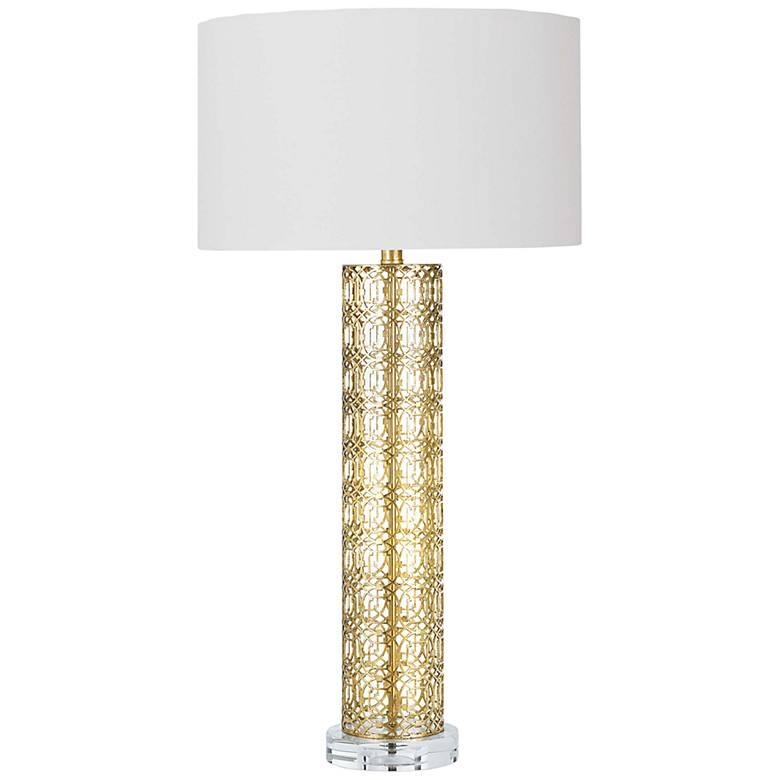 Regina Andrew Design Leopold Gold Leaf Table Lamp