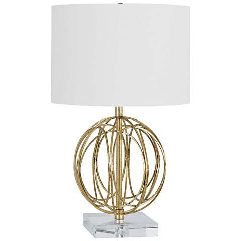 Regina Andrew Design Ofelia Sphere Gold Accent Table Lamp