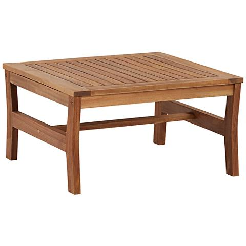 Milos Wood Outdoor Coffee Table