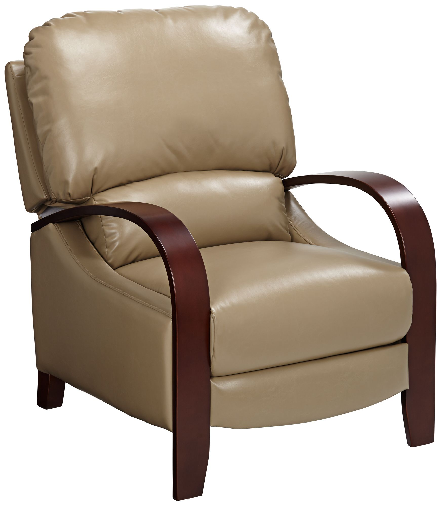 Awesome Cooper Celestial Oat Faux Leather 3 Way Recliner Chair