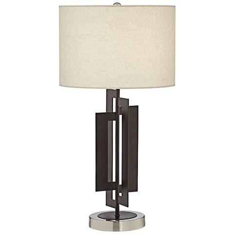 Deville Bronze Metal Table Lamp