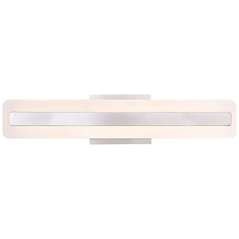 "Eurofase Savona 23 3/4"" Wide Chrome LED Bath Light"