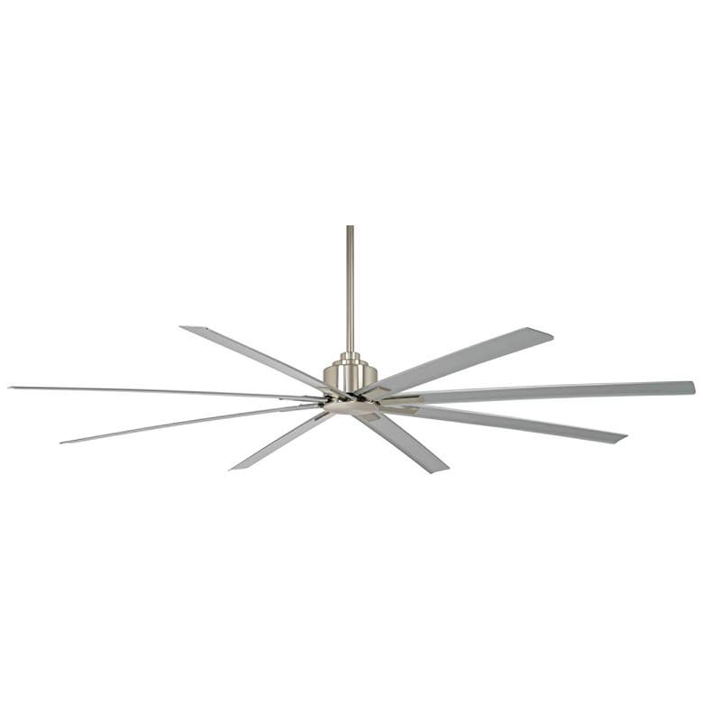 """84"""" Minka Aire Xtreme H2O Brushed Nickel Wet Ceiling Fan"""