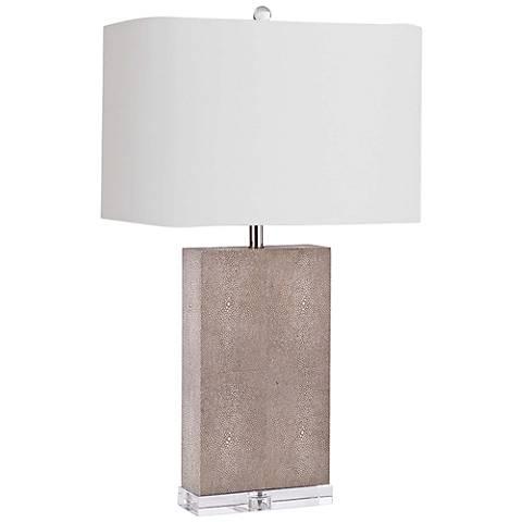Regina Andrew Design Marcel Ivory Shagreen Table Lamp