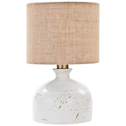 """Marselle 15 3/4"""" High Ceramic Accent Table Lamp"""