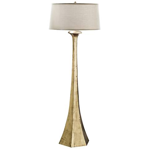 Regina-Andrew Granville Antique Gold Leaf Tapered Floor Lamp