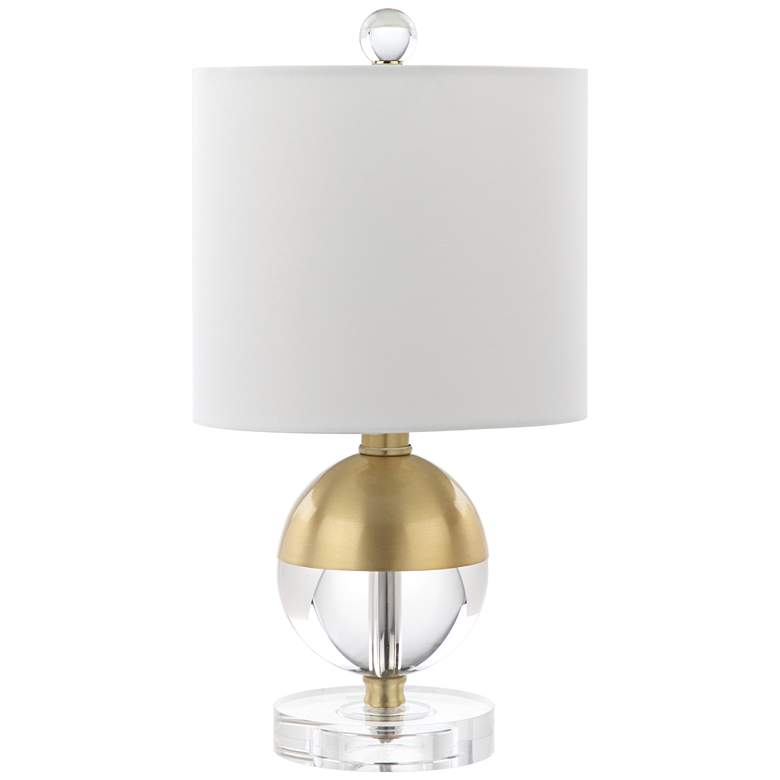 "McFarland 15"" High Crystal Ball Accent Table Lamp"