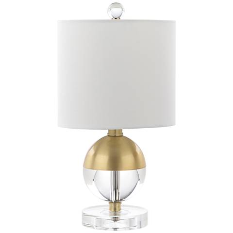 "McFarland 15"" High Crystal Ball Accent Table Lamp"