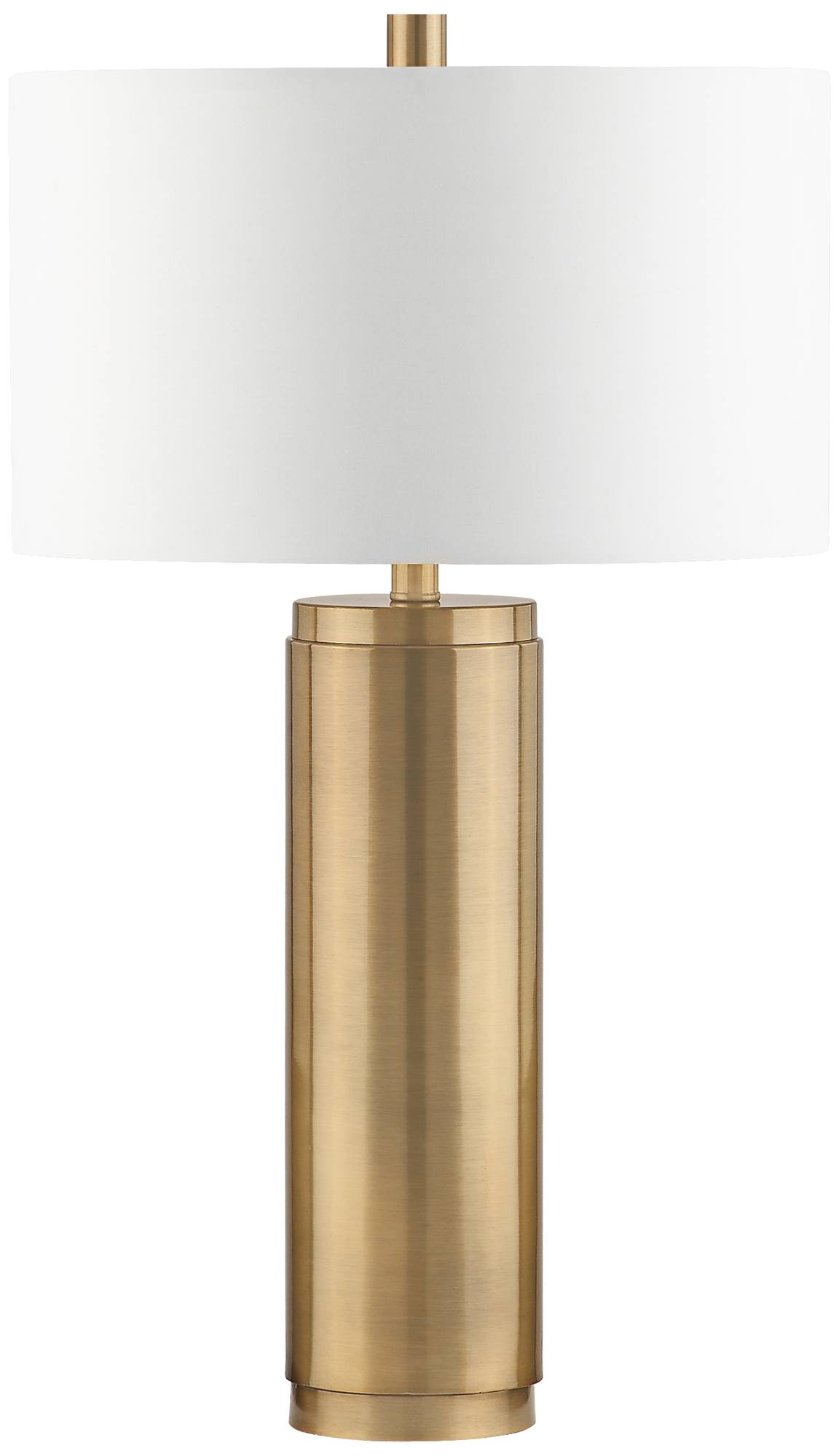 Lamps Plus Marshall Antique Brass Metal Cylinder Table Lamp