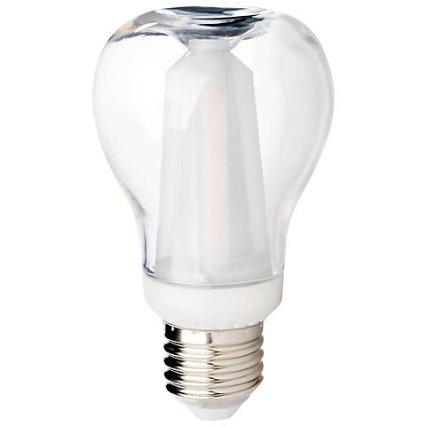 60 W Equivalent Clear 7 W LED Dimmable Standard Apple Clear