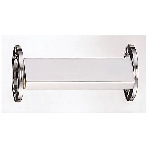 "Eurofase Viola 9 3/4"" Wide Chrome LED Bath Light"