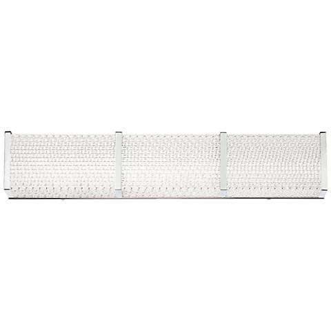 "Eurofase Wynn 24"" Wide Chrome LED Bath Light"