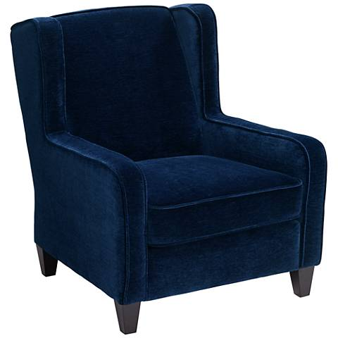 Klaussner Caleb Venice Sapphire Occasional Accent Chair