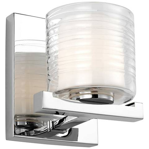 """Feiss Volo 6 1/2"""" High Chrome Wall Sconce"""