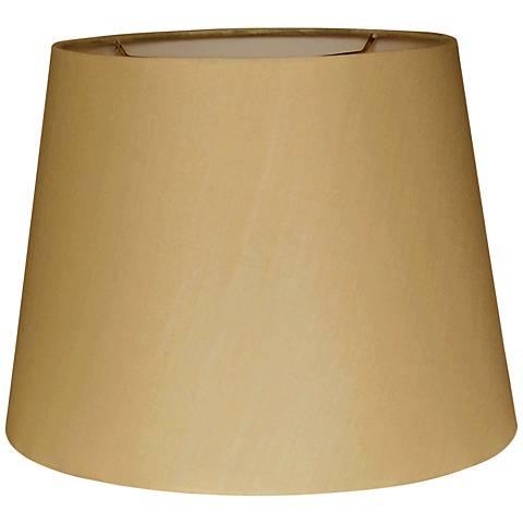 British Gold Empire Hardback Lamp Shade 10x14x10 (Spider)