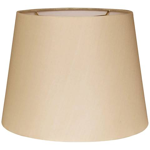 British Sand Empire Hardback Lamp Shade 10x14x10 (Spider)
