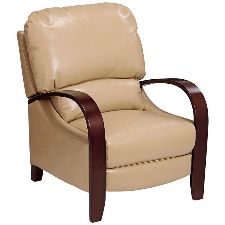 Cooper Celestial Fawn Faux Leather 3-Way Recliner Chair