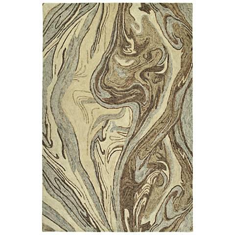 Kaleen Marble MBL02-29 Sand Wool Area Rug