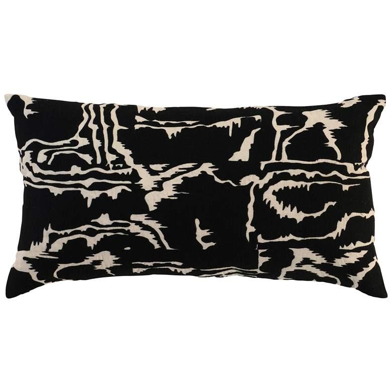 "Tulea Onyx 26"" x 14"" Decorative Pillow"