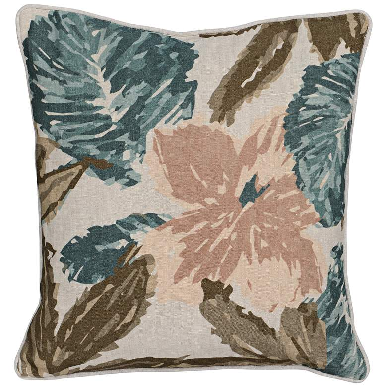 "Callie Multi-Color 22"" Square Decorative Pillow"