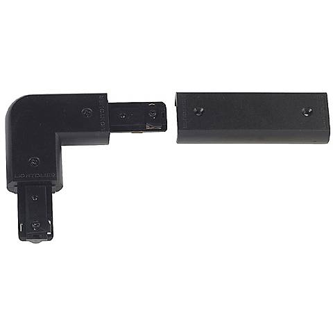 Lightolier Black Combination L or In-Line Connector