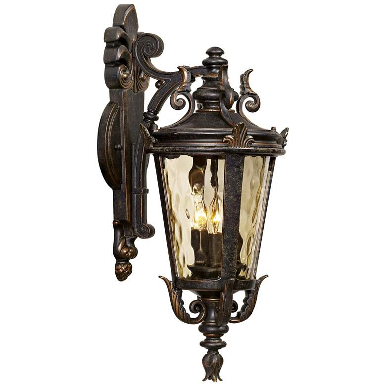 "Casa Marseille™ 21 3/4"" High Bronze Outdoor Wall Light"