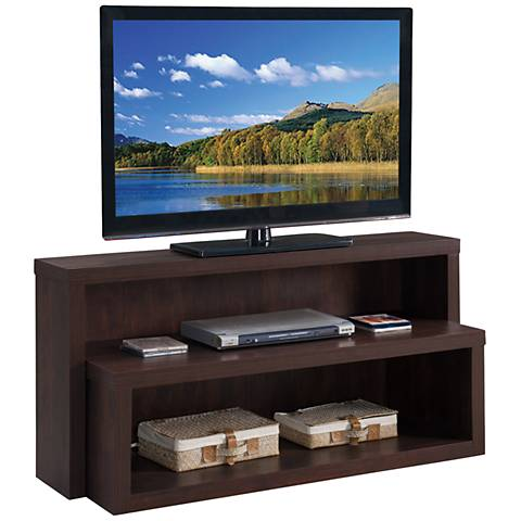 Riley Holliday Terraces Rich Burnt Sugar TV Stand Console