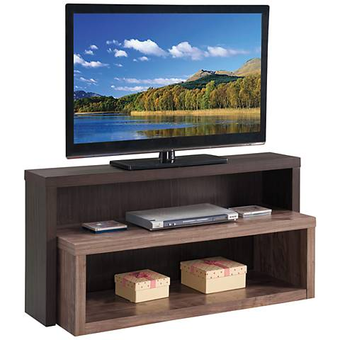 Riley Holliday Terraces Cacao and Sealskin TV Stand Console