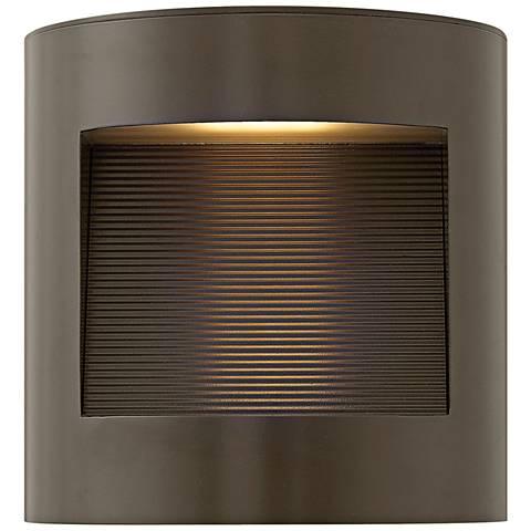 "Hinkley Luna 9"" High Bronze LED Outdoor Wall Light"