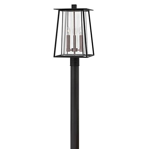 "Hinkley Walker 20 3/4"" High Black Outdoor Post Light"