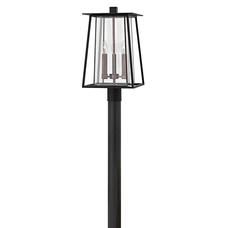 "Hinkley Walker 20 3/4"" High Black Outdoor Post Light"
